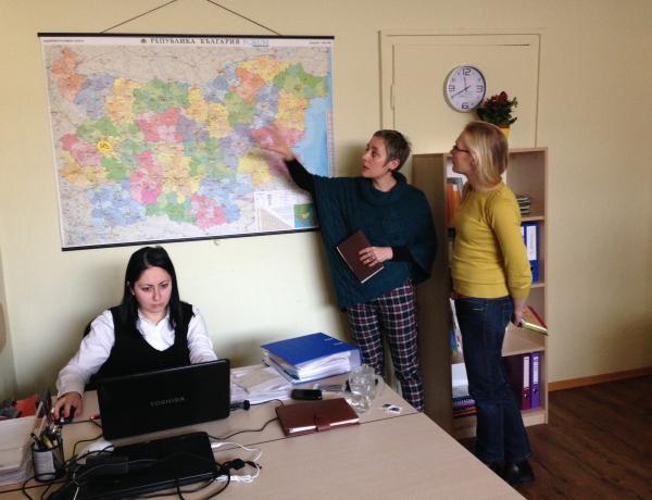 NENO на гости на ФГУ