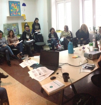Френски социални работници бяха на гости на ФГУ
